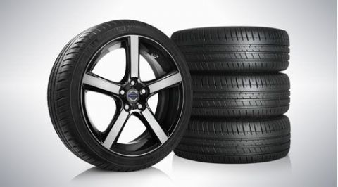"V40 ""Midir"" 7.5 x 18"" wheel & tyre x4 package"